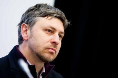 Rašytojas Marius Ivaškevičius. Tomo Vinicko (delfi.lt) nuotrauka