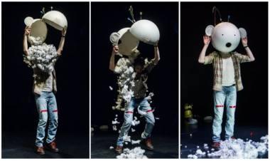 """Roelis Swanenbergas spektaklyje """"Tuščiagalvis"""". Dmitrijaus  Matvejevo nuotrauka"""