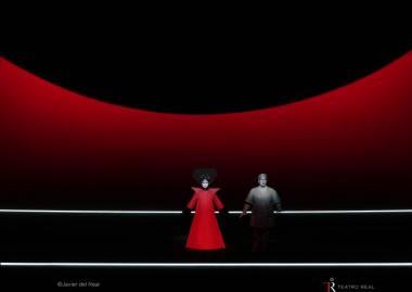 """Turandot"" Madrido ""Teatro Real"". Javiero del Realo nuotrauka"