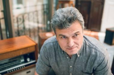 Aktorius Mindaugas Capas. VMT archyvo nuotrauka
