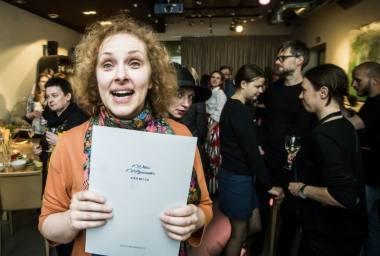 Vitos Mozūraitės vardo premija skirta choreografei Birutei Banevičiūtei. Dmitrijaus Matvejevo nuotrauka