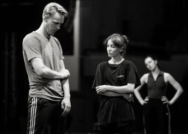 Choreografas Martynas Rimeikis ir balerina Julija Stankevičiūtė. Martyno Aleksos nuotrauka