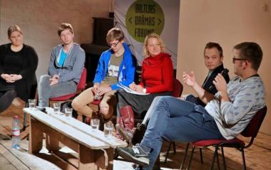 Baltijos dramos forumas, vykęs Latvijoje. Nuotrauka iš organizatorių archyvo