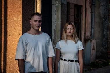 Raimondas Klezys ir Greta Šepliakovaitė. Viktorijos Lankauskaitės nuotrauka