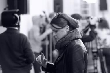 Prodiuserė Ana Ablamonova. Martyno Aleksos nuotrauka