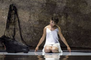 "Asmik Grigorian R. Castellucci režisuotoje ""Salomėjoje"". Ruth Walz nuotrauka / Salzburger Festspiele"