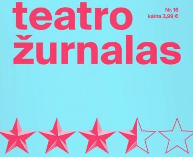 """""""Teatro žurnalas"""" Nr. 16"""