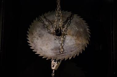 """Akimirka iš parodos """"Eimunto Nekrošiaus meno fortas"""". Lauros Vansevičienės nuotrauka"""