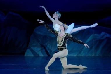 Sarah Lamb ir Vadimas Muntagirovas. Martyno Aleksos nuotrauka