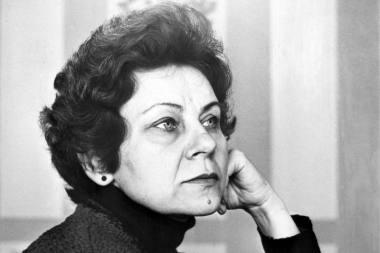 Aktorė Aldona Baranauskaitė–Naciuvienė (1942-2020). Nuotrauka iš KVLT archyvo
