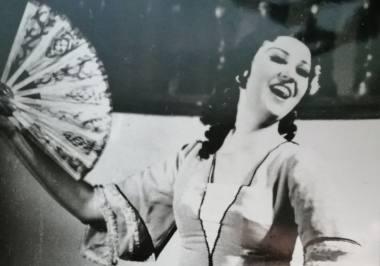 Operos solistė Danguolė Juodikaitytė-Adamkevičienė (1942-2020). Nuotrauka iš šeimos archyvo