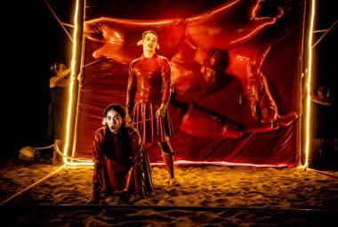 """Akimirka iš """"Tristano ir Izoldos"""", kūrėja Dr. GoraParasit. Peter van Heesen nuotrauka"""