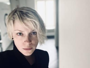 Aktorė ir režisierė Ieva Stundžytė. Nuotrauka iš asmeninio archyvo