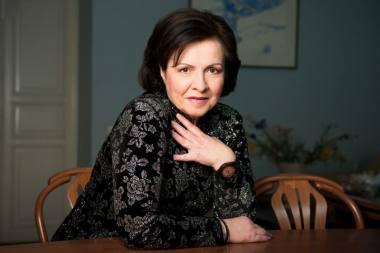 Aktorė Eglė Gabrėnaitė. Lauros Vansevičienės nuotrauka