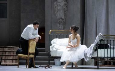 """Scena iš operos """"Undinė"""", režisierius Christofas Loy'as (Madrido Teatro Real, 2020). Nuotrauka iš mezzo.tv"""