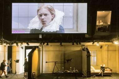 """Jenny König spektaklyje """"Orlando"""". S. Cummiskey nuotrauka"""