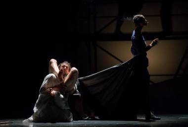 "Scena iš spektaklio ""Don Kichotas"" (rež. Adomas Juška). Lauros Vansevičienės nuotrauka"