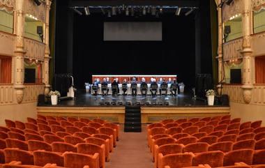 """""""Hamleto"""" repeticija Carlo Goldonio teatre. Aurimo Minsevičiaus nuotrauka"""