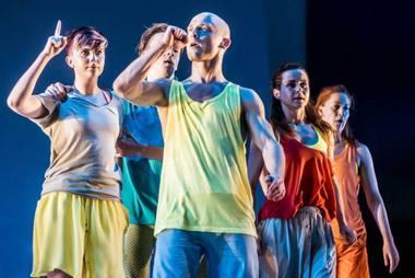 """Urbanistinio šokio teatras """"Low Air"""". Dmitrijaus Matvejevo nuotrauka"""