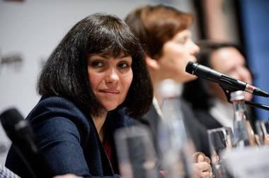 Teatro kritikė ir festivalių kuratorė Marina Davydova. Nuotrauka iš socialinio tinklo asmeninės paskyros