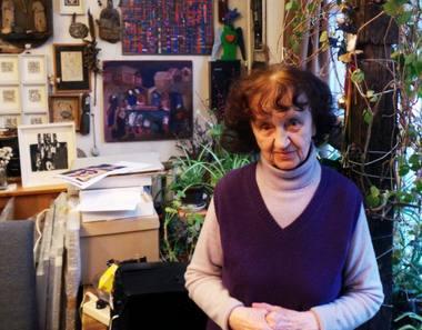 Dailininkė Birutė Žilytė. LNDT archyvo nuotrauka