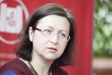 Muzikologė Beata Baublinskienė. Oresto Gurevičiaus nuotrauka