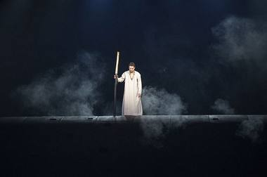 """""""Edipas karalius"""". Jevgenijaus Vachtangovo teatro archyvo nuotrauka"""