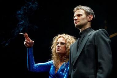 Monika Vaičiulytė (Eglė) ir Ainis Storpirštis (Benas). Tomo Lukšio (BFL) nuotrauka