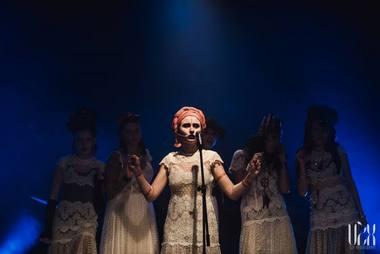 """Spektaklis-koncertas """"Graži ir ta kita"""". Eglės Sabaliauskaitės nuotrauka"""