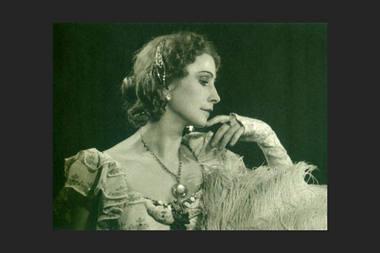 """Aliodija Ruzgaitė balete """"Sužadėtinė"""". Nuotrauka iš delfi.lt"""