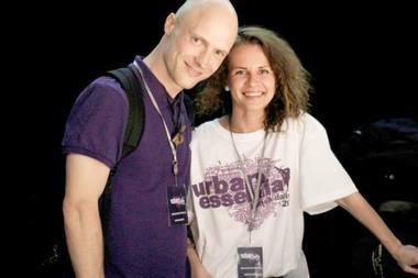 Laurynas Žakevičius ir Airida Gudaitė. Asmeninio archyvo nuotrauka