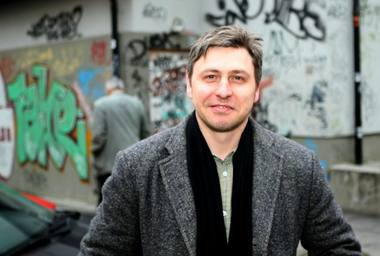 Dramaturgas Marius Ivaškevičius.  Ramūno Danisevičiaus (lrytas.lt) nuotrauka