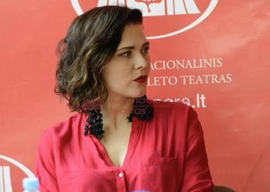 Operos solistė Viktorija Miškūnaitė. Martyno Aleksos nuotrauka