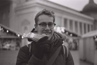 Režisierius Adomas Juška. Asmeninio archyvo nuotrauka