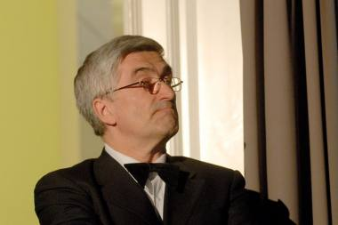 Rimantas Štaras, Nacionalinio Kaunos dramos teatro administratorius ir legenda. Dmitrijaus Matvejevo nuotrauka