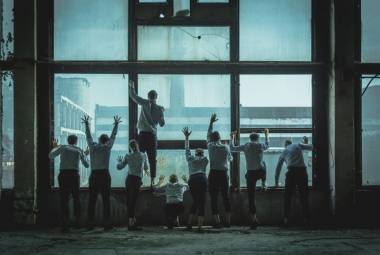 """Spektaklio """"Aklieji"""" premjera rugsėjo 21, 22 dienomis, Juozo Miltinio dramos teatre. Tado Povilonio nuotrauka"""
