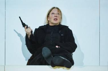 """""""Rusiškas romanas"""" Novosibirsko teatre """"Globus"""". Sofja Tolstaja - Liudmila Trošina. Teatro """"Globus"""" archyvo nuotrauka"""