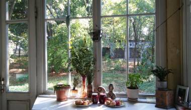 Rudens veranda. Autorės nuotrauka