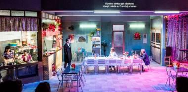 """Scena iš spektaklio """"Saigonas"""". Dmitrijaus Matvejevo nuotrauka"""