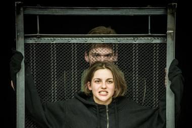Greis - Greta Petrovskytė ir Gremas - Kęstutis Cicėnas. Dmitrijaus Matvejevo nuotrauka
