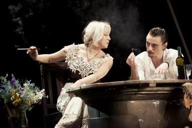Inesa Paliulytė ir Tomas Rinkūnas. Donato Stankevičiaus nuotrauka