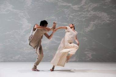 "Spektaklis ""Baltas vanduo"". Liu Chen-hsiang nuotrauka"