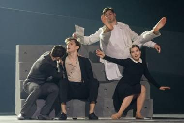 """Procesas"". Baleto scena. Martyno Aleksos nuotrauka"