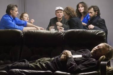 """Regis, iš nieko kuriamoje """"Žuvėdroje"""" teatras virsta gyvenimu. Dmitrijaus Matvejevo nuotrauka"""