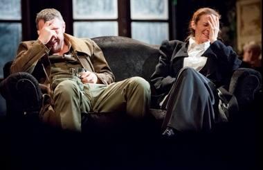 """""""Vyšnių sodas"""". Scena iš spektaklio. Donato Stankevičiaus nuotrauka"""