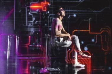 """Scena iš spektaklio """"Tinklas"""", režisierė Agnija Leonova. Kemel Photography nuotrauka"""