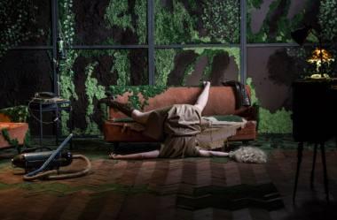 """Akimirka iš spektaklio """"Testas"""", režisierius Artūras Areima. Lauros Vansevičienės nuotrauka"""