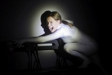 Nina (Gelminė Glemžaitė) Kostios vaidinime. Dmitrijaus Matvejevo nuotrauka