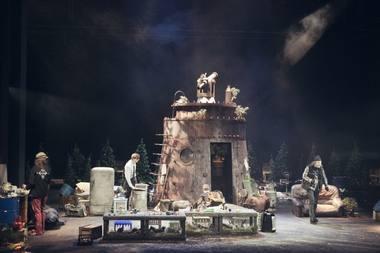 Martino Vilkario scenovaizdis. Donato Stankevičiaus nuotrauka