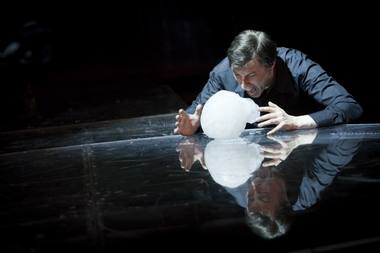Hamletas - Vainius Sodeika. NKDT nuotrauka